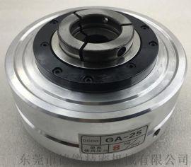 台湾进口GA-25中空气压夹头,自动化装配夹持油气压夹头