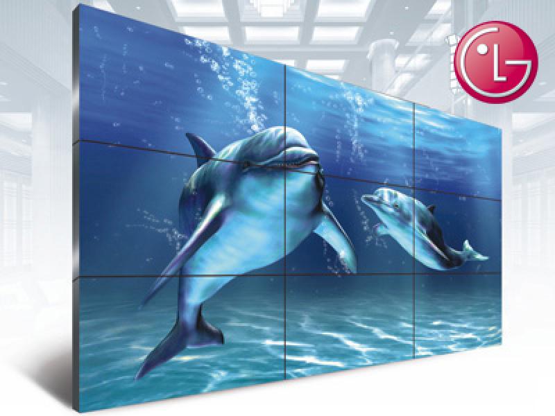 LG 55寸/49寸/46寸高清液晶拼接屏/拼接屏廠家