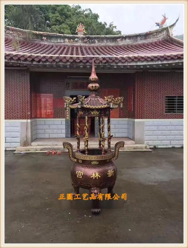 zy1186圆形香炉,圆形香炉厂家|温州香炉厂家