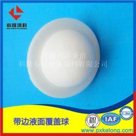 电力系统凝结水箱用Ф40带边液面覆盖球圆形塑料填料