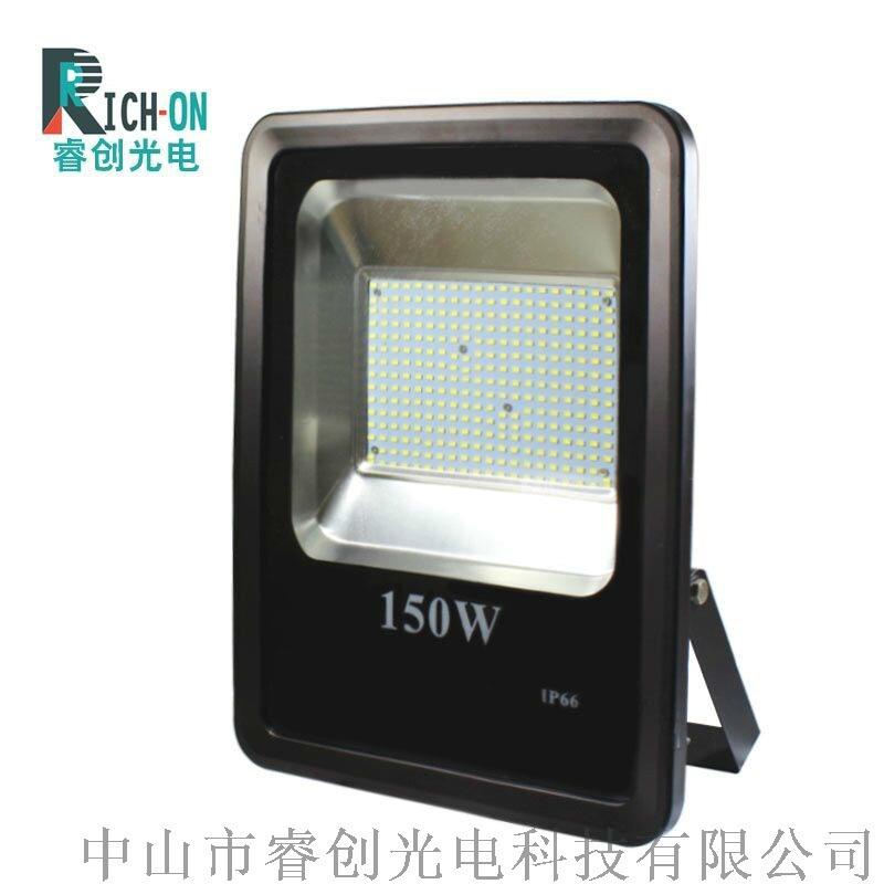 睿创光电150W贴片LED投光灯,乡村道路照明路灯