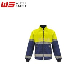 厂家供应高可视荧光工作服 阻燃防静电全棉夹克 可定制反光工作服