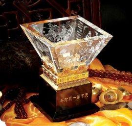 水晶纪念品,水晶摆饰(天下  聚财斗)