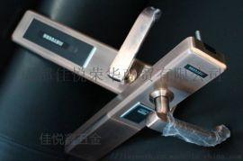 電子感應式不鏽鋼鎖 成都市C級鎖芯防盜指紋鎖