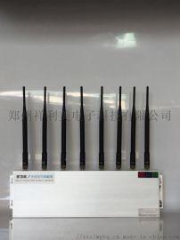 郑州祥利美外置八天线铝壳考场手机信号屏蔽器