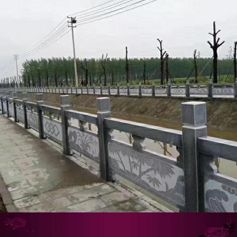 石栏杆批发厂家-石雕栏杆免费设计安装