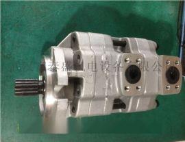 制砖机用GPC4-40-32-1E2F4-R双联齿轮泵 齿轮泵