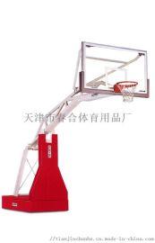 电动液压升降篮球架01235