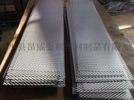 染漆钢板网 菱形钢板网 红色菱形重型钢板网