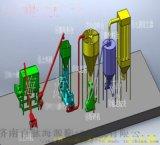 百脉海源预糊化淀粉膨化机 镁球粘合剂加工设备
