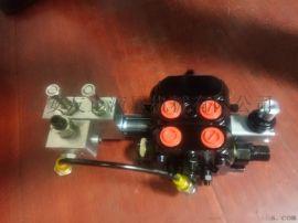 SD  DCV60-OT电控电磁手动多路换向阀12V或24V手动加电控