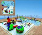 青蛙噴水兒童戲水小品水上樂園滑梯水上遊樂設備