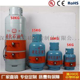 50GK气罐用硅橡胶电加热器,电热带