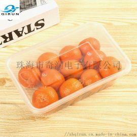 一次性快餐饭盒1000ML方餐PP塑料环保材质方盒