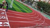 透气型塑胶跑道 田径场施工方案 运动跑道材料厂家