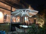汉能伞、户外太阳能庭院伞、多功能薄膜发电带usb手机充电口