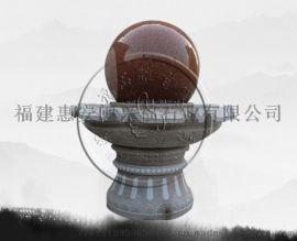 供应石雕喷泉流水摆件园林别墅庭院风水球雕塑