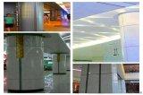 酒楼红色包柱铝单板 教学楼门柱包柱铝单板