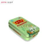 广州润喉糖小铁盒 食品盒两片拉伸罐 马口铁包装容器