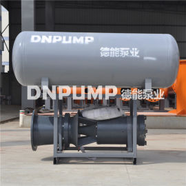 500QZB-70浮筒泵卧式安装潜水轴流泵