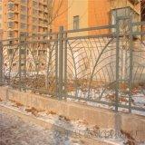 别墅铁艺围栏小区工艺防爬护栏工厂围墙螺纹钢栏杆
