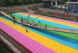 吉林游乐景区网红桥彩色充气垫子多少钱