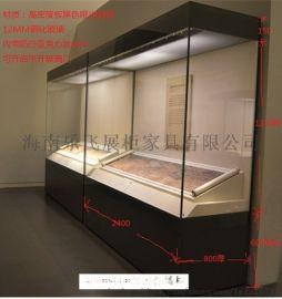 海南展示柜台生产制作厂家海口展柜厂专业展柜定做