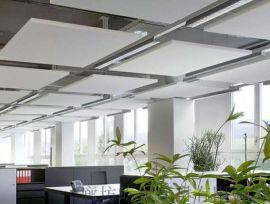 岩棉复合板 玻纤吸音板吊顶 防火抗菌吸音天花板