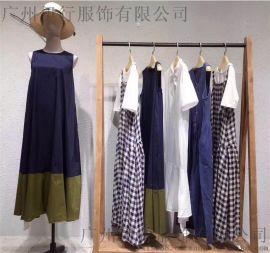 广东慕妍女装品牌折扣尾货2019年夏装一手货源分份