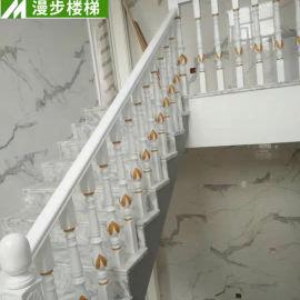 漫步家装室内典雅实木楼梯