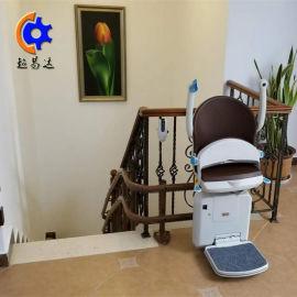 济宁斜挂式座椅电梯 家用楼道式无障碍座椅平台