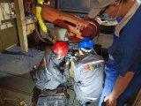 青岛工业机器人长时间断电系统无法初始化故障维修