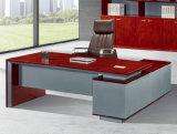 2052款2.2米油漆办公桌 胡桃木皮绿色环保家具