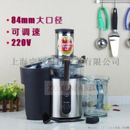 澳洲Breville 铂富果汁机榨汁机 BJE500 家用商用调速蔬果榨汁机