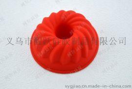 义乌定做 圆形硅胶马芬杯 硅胶烤盘 硅胶蛋糕模 烤焙工具
