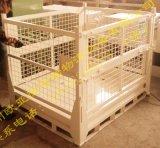 堆垛架,折叠周转箱,折叠筐,网笼周转箱