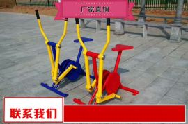 健身路径奥博体育器材 户外单人健骑机生产厂家