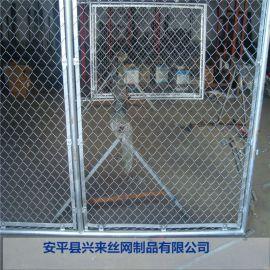 绿色勾花网 镀锌勾花网 浙江球场护栏网厂