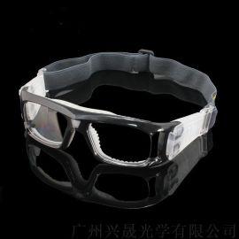廠家直銷運動籃球眼鏡 可配近視防霧籃球眼鏡架