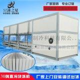 冰之星30吨直冷式块冰机大型工业降温冷藏制冰机厂家