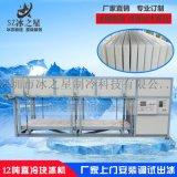 供应12吨直冷式块冰机大型工业降温制冰机厂家
