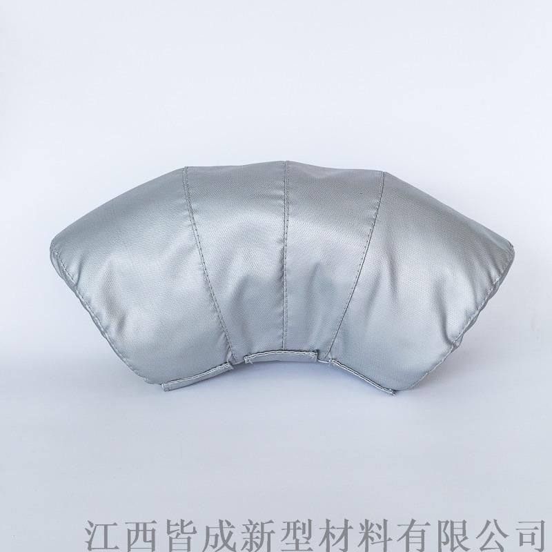 彎頭+彎頭可拆卸式隔熱保溫套