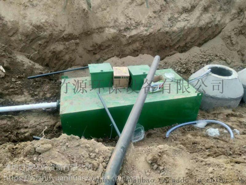 养猪场废水地埋式处理设备应用