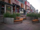供应不锈钢装饰花盆 广场不锈钢花钵花插组合