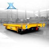 搬運化工零件清洗機電動軌道臺車20噸電動平車