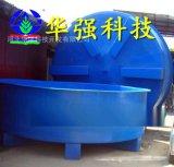廠家定製大型玻璃鋼環保水槽 長形 圓形玻璃鋼育苗魚苗孵化水箱