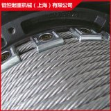 鋼絲繩捲揚機捲揚機用鋼絲繩科尼德馬格鋼絲繩電動葫蘆鋼絲繩