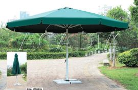 手摇中柱铝合金大伞,户外太阳伞,庭院伞(KY-U6107)