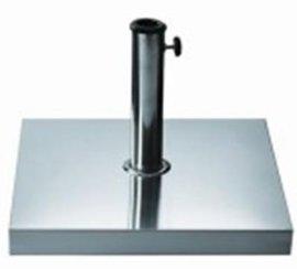 方形不锈钢底座 AC-CBS30 (304不锈钢+水泥浇筑)