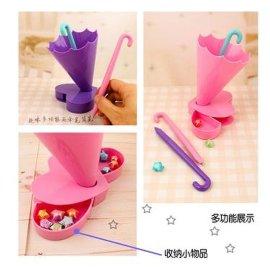 雨伞造型收纳筒, 多功能收纳筒, 创意收纳筒, 创意笔
